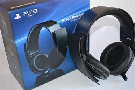 Headset Ps3 official ps3 wireless stereo headset unboxing just push start
