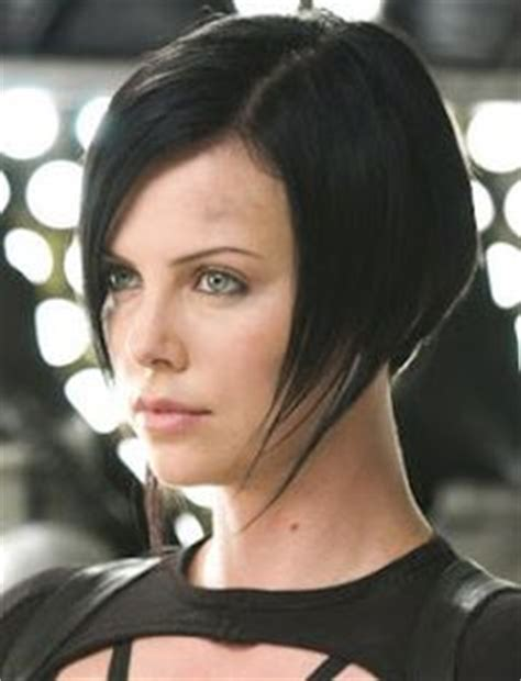 edgy haircuts charlize theron in aeon flux aeon flux charlize theron and angles on pinterest