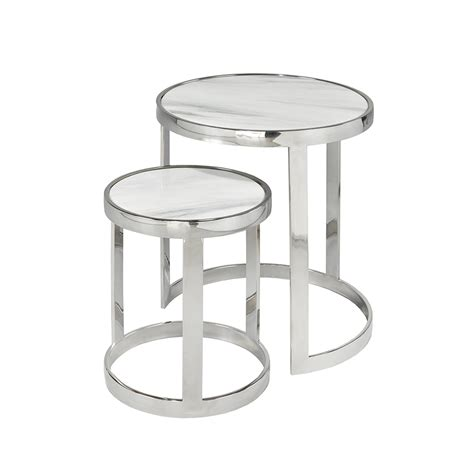 marble top nesting tables marble nesting tables xcella