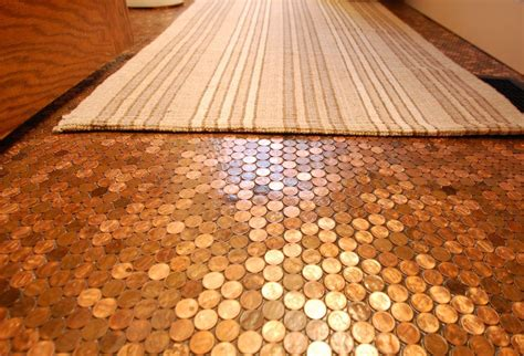 cool flooring 30 penny tile designs that look like a million bucks