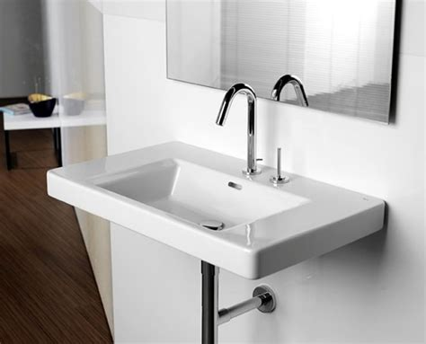 uk bathrooms com roca khroma wall hung basin uk bathrooms