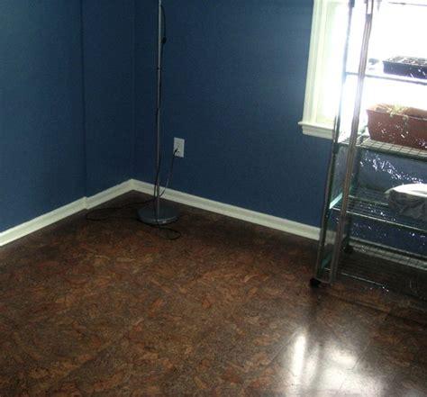 cork floor basement ideas