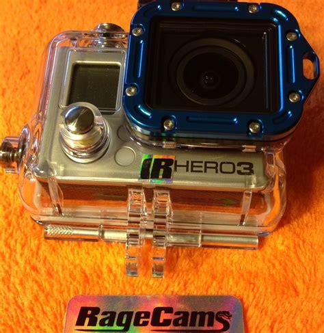 Gopro Vision hd hero3 hd3 hero3 vision modification lens change no fish eye distortion hd wearable