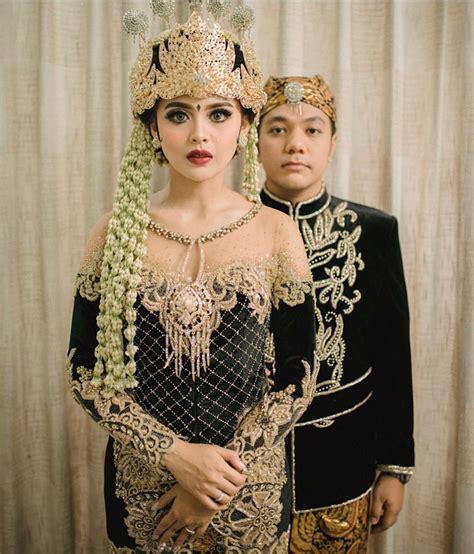 rekomendasi baju resepsi pernikahan adat jawa untuk til mengagumkan gebeet