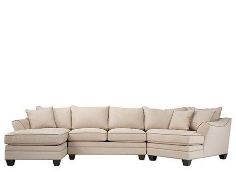 taupe sectional sofa microfiber chaise lounge living room foresthill 3 pc microfiber sectional sofa sectional