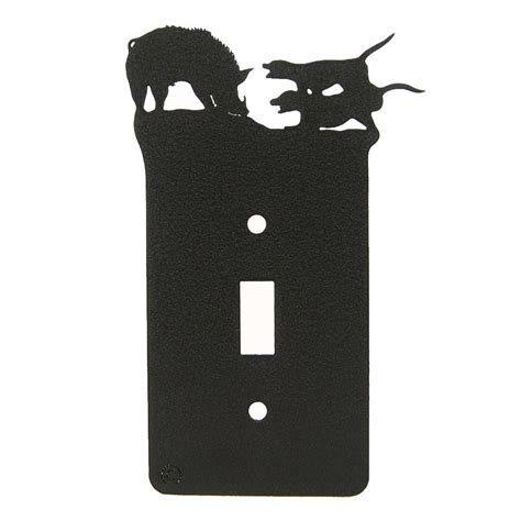 hog doggin single light switch plate cover