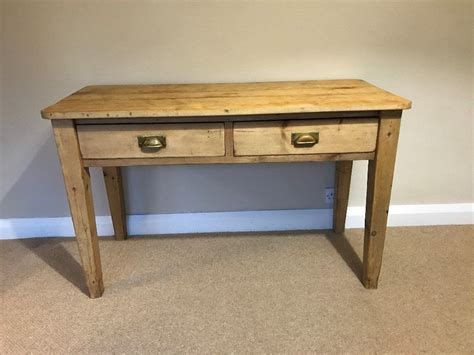 Kitchen Table With Drawer by Early 20th Century 2 Drawer Antique Pine Kitchen Table In Lancashire Gumtree