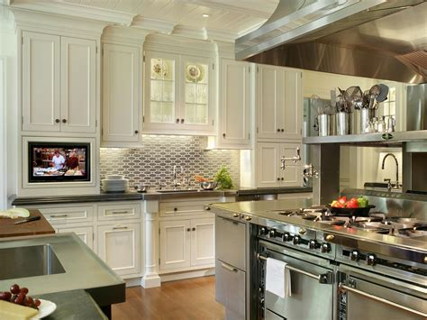 Backsplash For Kitchen With White Cabinet by Tile Backsplash Ideas Pictures Amp Tips From Hgtv Kitchen