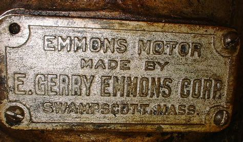 emmons motor co emmons motors