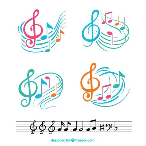 beth s music notes flash cards the beautiful sound of ector illustration of beautiful music background light all