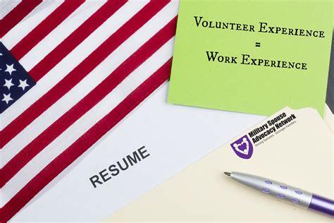 volunteer work in resume volunteer resume template free resume