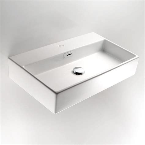 quarelo 53709 wall mount sink by ws bath collections contemporary bathroom sinks