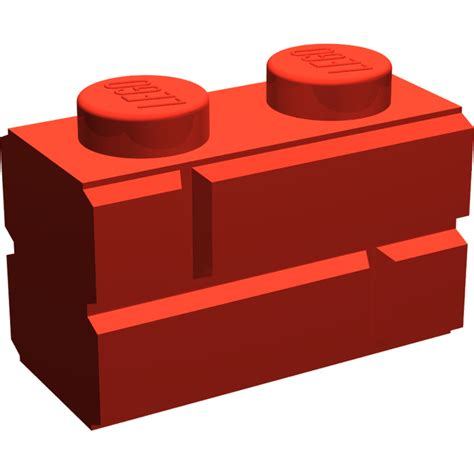 Lego Brick With Embossed Bricks 98283 lego brick 1 x 2 with embossed bricks 98283 brick owl
