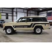 1983 Jeep Grand Cherokee  Post MCG Social
