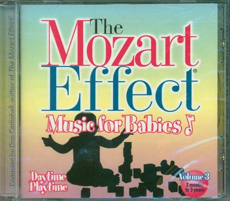 Cd The Mozart Effect For Children Vol3 the mozart effect for babies vol 3 cd