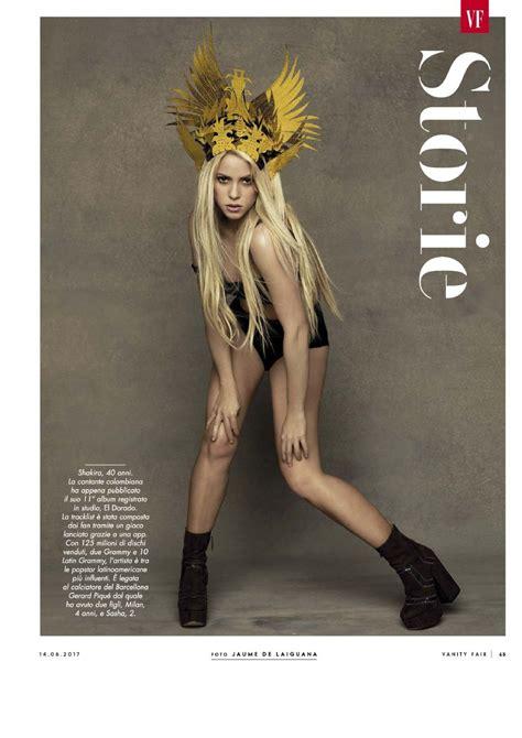 16 Years 15 Beautiful Vanity Fair Issue Covers by Shakira Vanity Fair Magazine Italia June 2017 Issue