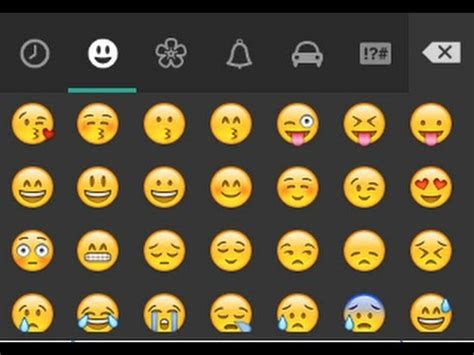 how to use emoticon in whatsapp where do you find how to use whatsapp emoticons in any other chat on android