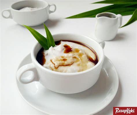resep membuat bubur sumsum tanpa santan bubur sumsum gurih saus gula merah resep resepkoki