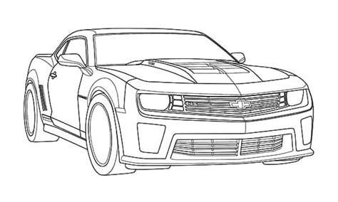 bumblebee car coloring page bumblebee car drawing