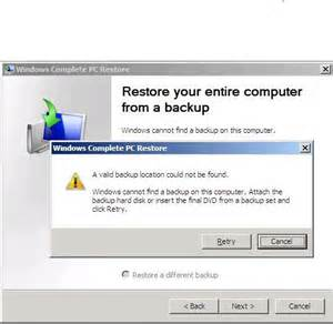 how to backup and restore companyweb in small business server 2008 how to perform a bare metal restore on small business
