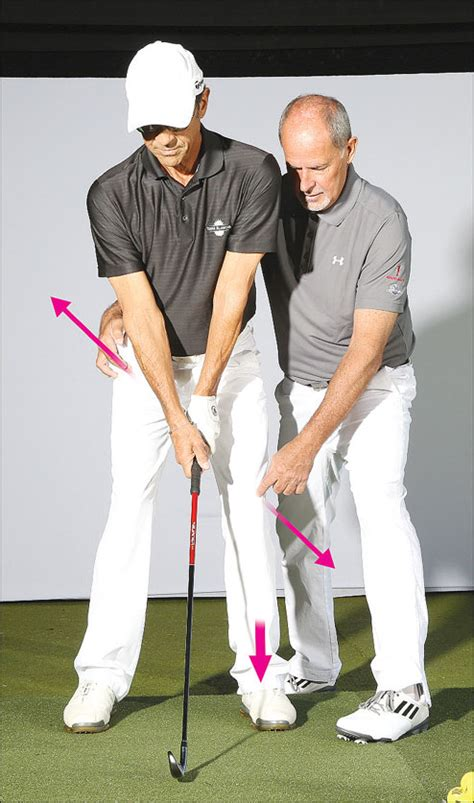 golf swing left knee action le swing dynamic insight that every golfer needs to