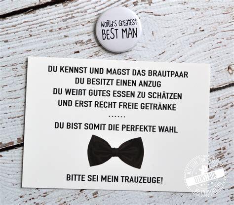 Hochzeit Trauzeuge by Willst Du Mein Trauzeuge Sein Feenstaub At Shop