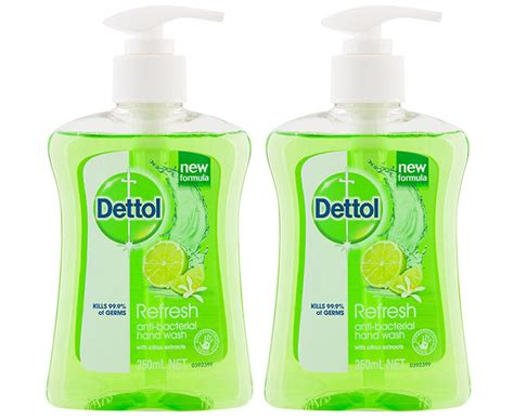 Sega Dw 02 By Dettol 2 x dettol antibacterial refresh liquid wash 250ml