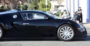 Simon Cowell S Bugatti Simon Cowell Arrives At The X Factor Usa Studios In His 1