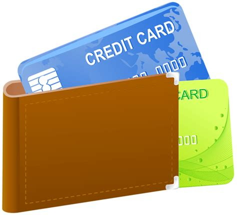 credit card template transparent wallet with credit cards png clipart image gallery