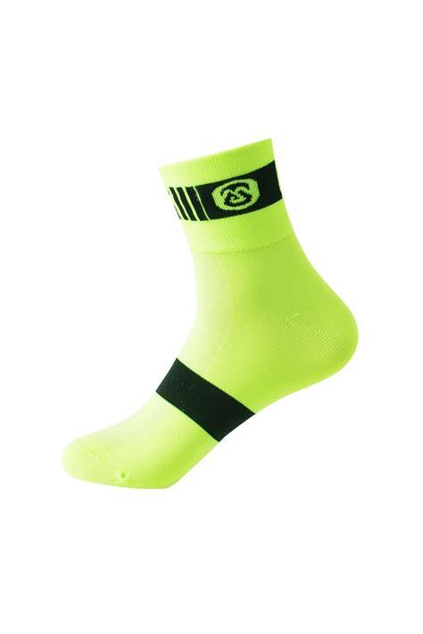neon cycling 2017 cheap neon yellow cycling socks low cut for men and women