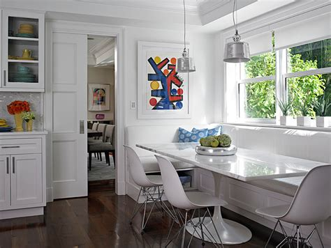 long kitchen transitional kitchen deborah wecselman hibiscus drive transitional dining room miami by