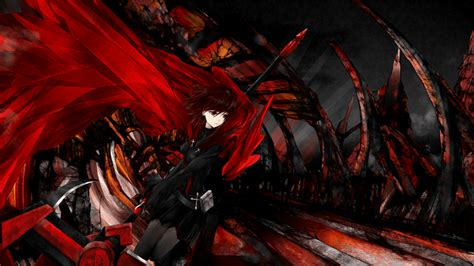 wallpaper anime red rwby wallpapers wallpaper cave