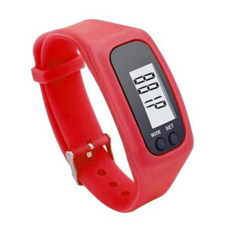 Pedometer Sport Running Digital Step Counter lcd pedometer step walking distance sport digital bracelet calorie counter ebay