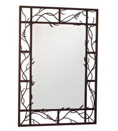 Mirror Vanity Watsonville by Allen Roth 40 In H X 30 In W Bronze Rectangular Framed