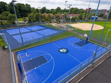 backyard tennis court cost how much does a outside basketball court cost home