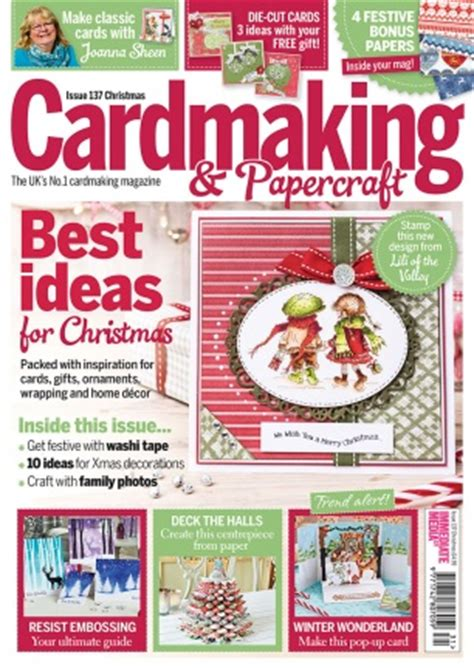 Papercraft Magazine Subscription - cardmaking papercraft magazine subscriptions renewals
