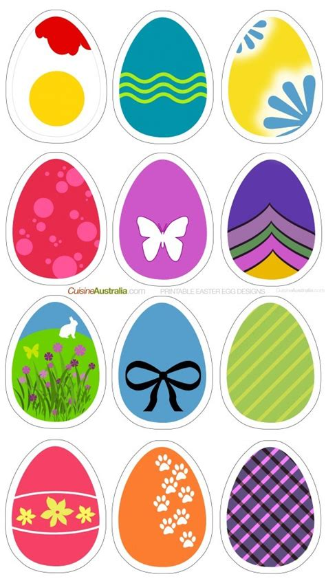easter egg designs easter egg designs for printing cuisine australia