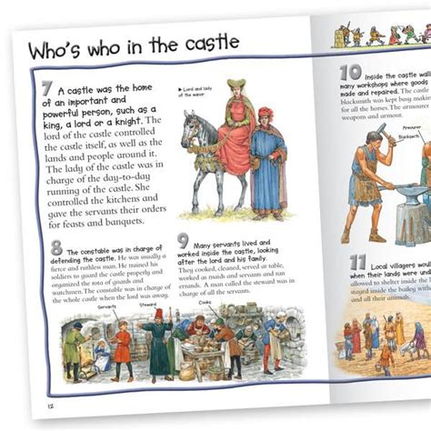 100 facts about the ultimate fact book about books 100 facts knights and castles non fiction book for