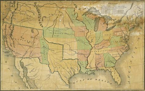 map of the united states in 1840 united states map 1840 thefreebiedepot