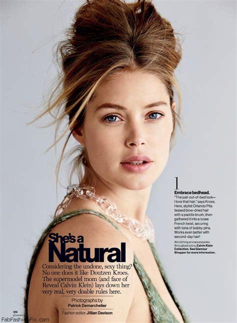 Doutzen Kroes reveals her beauty secrets for Glamour September 2014   Fab Fashion Fix