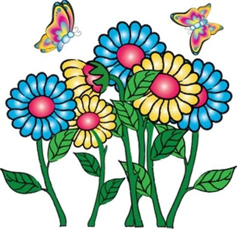 Butterfly And Flower Clipart clipart of flowers and butterflies cliparts co