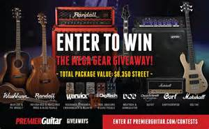 Music Gear Giveaway - pg giveaways us music mega gear giveaway 2015 11 18 premier guitar