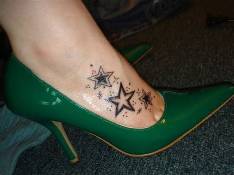 star foot tattoos mister tattoos foot tribal tattoos