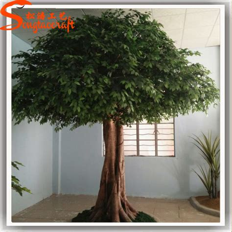 indoor decorative trees for the home new products 2015 china price evergreen large artificial