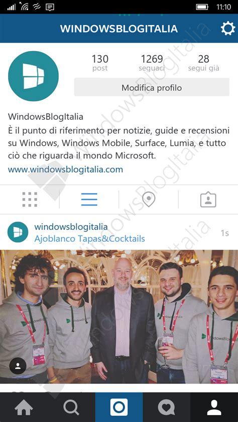 windows 10 no muestra imagenes instagram para windows 10 mobile se muestra en im 225 genes y