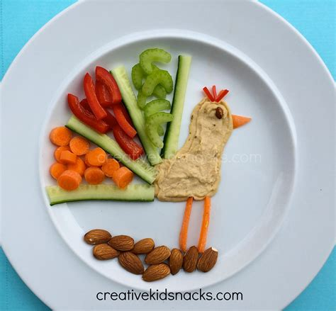 creative kid snacks make fun of lunch