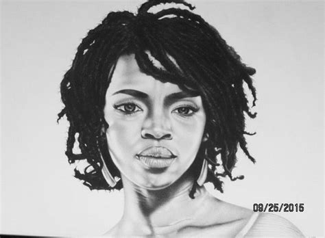 lauryn hill drawing lauryn hill pencil drawing barry davis barry s graphite