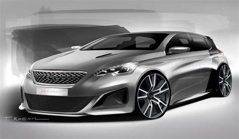 peugeot   concept design sketch car body design
