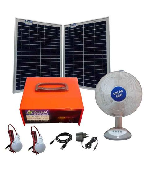 Solar Lighting System Price Solar Home Lighting System With 50w Solar Panel And 14ah