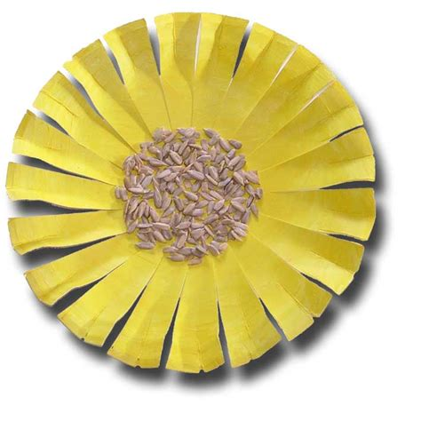 sunflower paper plate craft craft craft for to make crafts 4
